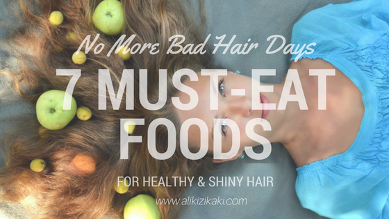 Must-eat foods for hair