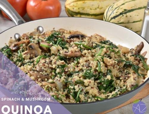 Spinach & Mushroom Quinoa